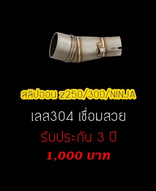 สลิปออน Z/NINJA/250/300
